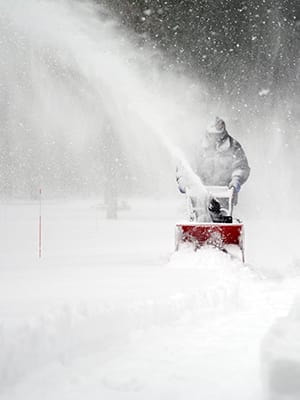 Snowblowing in Warwick, RI